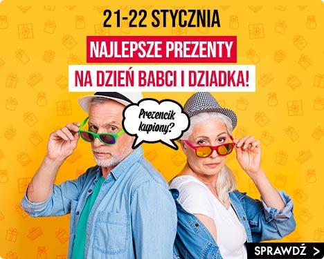 Prezenty na Dzień Babci i Dziadka - sprawdź w TaniaKsiazka.pl