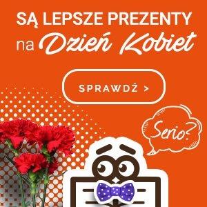 Najlepsze prezenty na Dzień Kobiet w TaniaKsiazka.pl - sprawdź >>