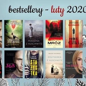 Książkowe bestsellery lutego 2020 w TaniaKsiazka.pl