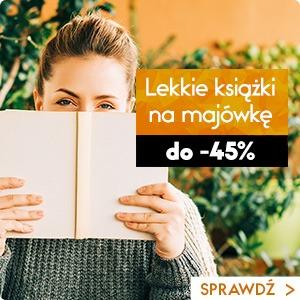Lekkie książki na majówkę do -45%