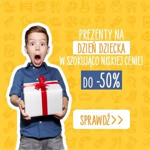 Prezenty na Dzień dziecka do -50% - sprawdź >