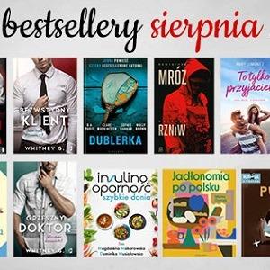 Bestsellery sierpnia 2020 w TaniaKsiazka.pl