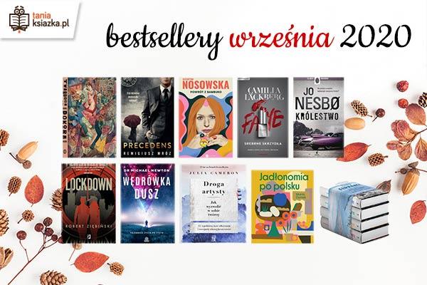 Bestsellery września TaniaKsiazka.pl