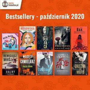 Bestsellery października w TaniaKsiazka.pl bestsellery października w TaniaKsiazka.pl