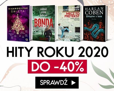 Hity roku 2020 do -40% Sprawdź na TaniaKsiazka.pl >>