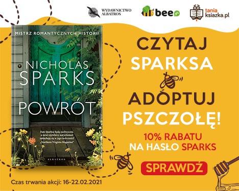 Adoptuj pszczołę Szczegóły na TaniaKsiazka.pl >>