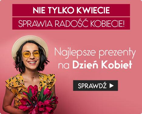 Prezenty na Dzień Kobiet w TaniaKsiazka.pl