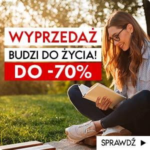 Wiosenna wyprzedaż w TaniaKsiazka.pl do -70%!