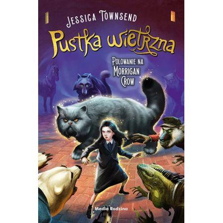 Okładka książki Pustka wietrzna Jessica Townsend