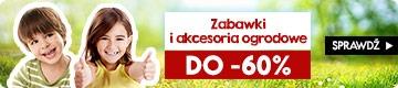 Zabawki i akcesoria ogrodowe do -60% Sprawdż na TaniaKsiazka.pl >>