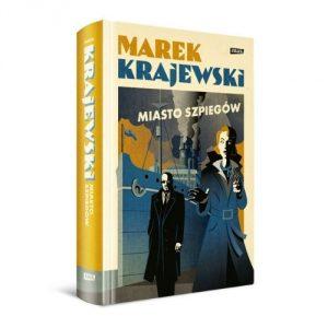 Marek Krajewski Miasto szpiegów - książkowe upominki na Dzień Ojca