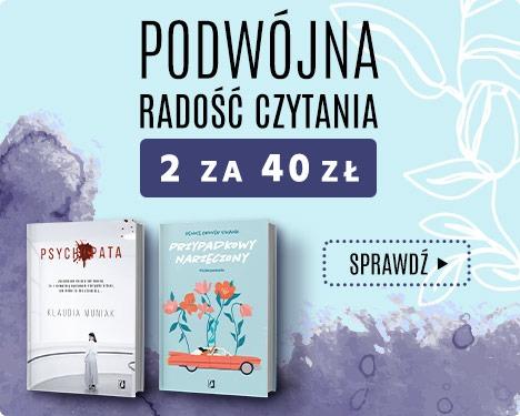 2 książki za 40 zł - promocja na książki
