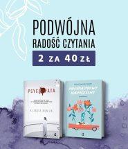Zrób zapasy na długie wieczory: 2 książki za 40 zł