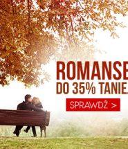 Promocja na romanse – rabaty na książki nawet do -35%! Sprawdź >>