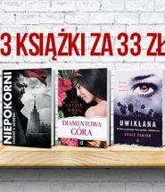 Wielka promocja – kup 3 książki za 33 zł!