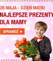 Mamo, mamo cóż Ci dam...? Książkę Ci dam! Prezenty na Dzień Matki kup na www.taniaksiazka.pl